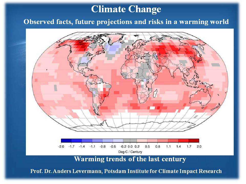 Climate Change Impact, will I survive or one of the casualties?