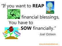 Reap Financial Blessings