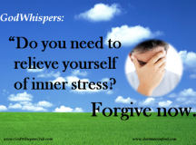 Quote for the Day: Relieve Yourself of Inner Stress