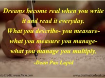 Quote for the Day: What you manage, you multiply