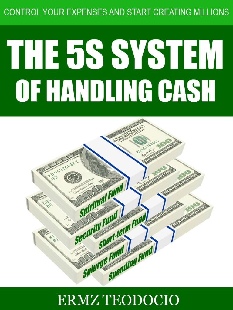 THE 5S SYSTEM OF HANDLING CASH_book cover