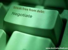 Respite from debt via negotiation