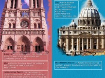 Paris and Rome, The City of Love and Eternal City – Infographics