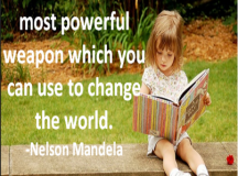 Quote for the Day: Education is the most powerful