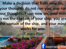 Quote for the Day: On Making Decision