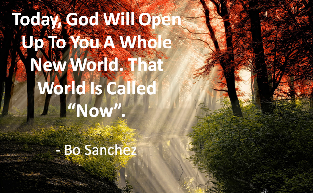 Quote for the Day: New World