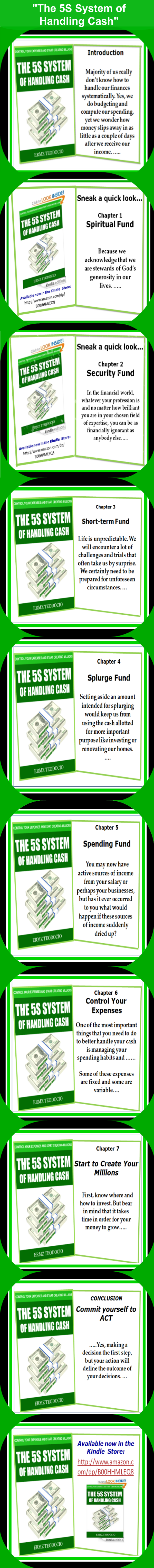5s System of Handling Cash-Infographic