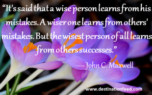 Quote of the day: Learn from others
